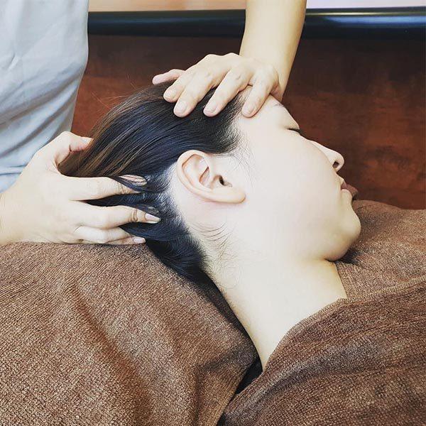 head massage 50 mins